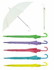 "Colorful 42"" Doorman hook Handle Umbrella"