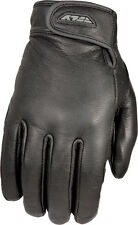 FLY Racing Rumble Leather Gloves - Thin Motorcycle Gloves Adult