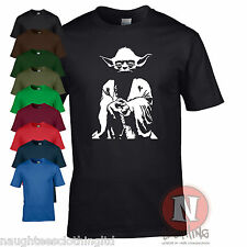YODA STAR WARS saga Jedi DVD movie tribute t-shirt