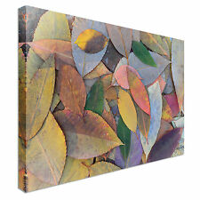 Multicolored autumn leaves Canvas Art Cheap Wall Print Any Size
