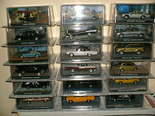 JAMES BOND CAR COLLECTION , 007 CARS , 1.43 SCALE , DIE CAST MODELS, BNIB