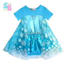 NEW BABY TODDLER INFANT GIRLS CHRISTMAS DISNEY PRINCESS TUTU DRESS OUTFITS SETS
