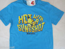 ANGRY BIRDS Licensed Boy t tee shirt s/sleeve top BNWT sizes 3-8