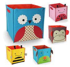 Cute Zoo Kids Baby Toy Storage Box Container Blanket Bin Toddler Chest Unit