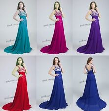 New Bridesmaid Dresses Formal Dress Long Prom Dresses Stock Size 6 8 10 12 14 16