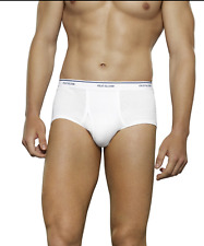 NEW 7 PACK MENS FRUIT OF THE LOOM WHITE BRIEFS M, L, XL  NEW SIZING
