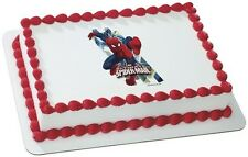 Spiderman ~ Frosting Sheet Cake Topper ~ Edible Image ~ D6901
