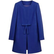 Fashion Women's Ladies Slim Coat Long Woolen Jacket Outwear Wool Coat Jacket New