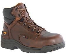 """Mens Timberland PRO 50508 Titan 6"""" Composite Safety Toe Work boot Brown (D, M)"""