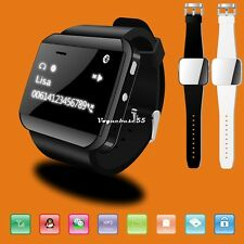 Waterproof U Watch 2 Bluetooth Smart Watch WristWatch Phone Mate IOS Android VE4