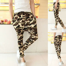 Casual Youth Fashion Trousers Mens New Slacks Baggy Harem Camouflage Carpenter