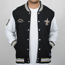 Majestic Athletic Senell Fleece New Orleans Saints Black/White Jacket