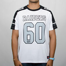 Majestic Athletic Finders Coach Oakland Raiders White/Black/Grey T-Shirt