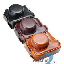New PU Leather Case Cover Bag For Canon PowerShot G1X Digital Camera 3 Colors