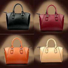 Women Real Genuine Leather Shoulder Bag Satchel Crossbody Tote Handbag Messenger