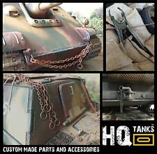 1/16 Scale Rc Tank CHAINS & ROPE for Heng Long / Tamiya Tanks and Vehicles