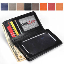 Men-s / Unisex Bi-Fold Bicast Leather Wallet Case M|A1 fits Mobile Smart-Phone