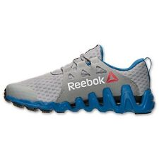 Reebok ZigTech Big & Fast Men's Running Shoes Grey/blue  Sizes 7.5 thru 14