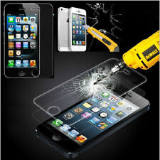 100% Genuine Tempered Glass Film  Proof Screen Protector For Iphone4/4s/5/5s/5c