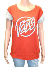 Vans Electrodeo Colour Blocked Ketchup Womens Tee, T-Shirt,BNWT,Skate, Casual,