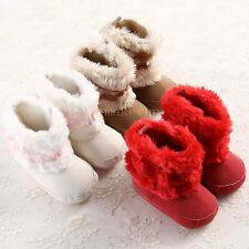Lovely Toddler Unisex Soft Sole Boy&Girls Baby shoes Boots Crib Infant LMU CA3