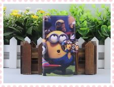 Hot lovely Colourful Funny Despicable me flip PU leather case cover for Nokia