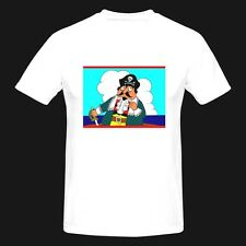 T SHIRTS-CAPTAIN PUGWASH-RETRO TV-FUNNY,PRESENT-AVAILABLE IN 6 COLOURS