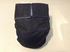 Adult Baby Diaper,Black, Fully Functional All in One, Extra Padding!