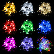 220V/110V 10M 100LED String Fairy Lights Christmas Wedding Party Xmas Tree Light