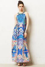 NWT $228 Anthropologie Boteh Maxi Dress by Ranna Gill Size 6 & 8