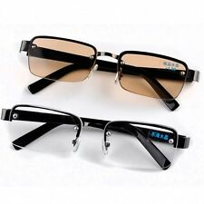 Fashion rimless designer crystal lens reading glasses 1.0 to 4.0