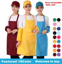 SPUN POLY CRAFT / COMMERCIAL RESTAURANT KITCHEN BIB APRONS WITH POCKETS