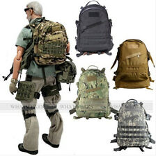 Tactical Rucksack 3D Hiking Trekking Bag Outdoor Climbing Backpack A0422 MUK