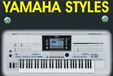 Styles & Midi Files for Yamaha PSR,Tyros & Clavinova keyboards  DVD or USB Stick