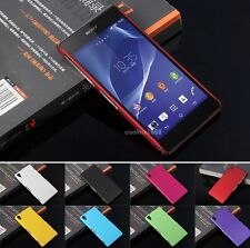 (NEW) Slim Premium Hard Back Shell Case Cover For Sony Xperia Z3 Accessories