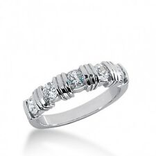 1.00CT Ladies Brilliant Cut Diamond Wedding Band Ring