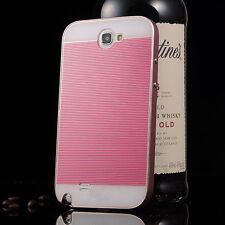 Ultra-thin All Metal Aluminum Case Cover For Samsung Galaxy Note 2 US Seller