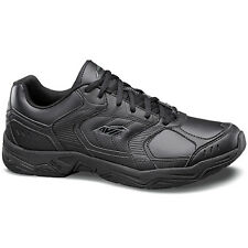 Avia AVI UNION A1439 Mens Black Grey Lace Up Slip Resistant Work Sneakers Shoes