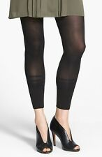 DKNY Black on Black Colorblock Stripe Crop Leggings - MSRP $18