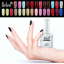 Belen Soak Off UV Nail Gel Polish Top Base Coat 15ml Fashion Hot Sale 177 Colors