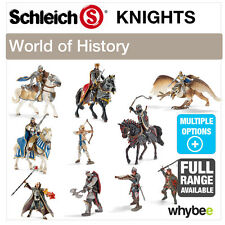 SCHLEICH WORLD OF HISTORY KNIGHTS FIGURES RANGE HISTORIC FIGURINES & TOYS