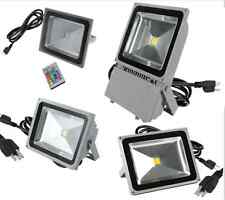 10W20W30W50W100W LED Flood light Outdoor Landscape Lamp come with USA plug cable