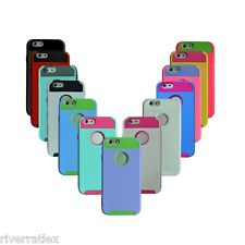 iPhone 6 Case 4.7 PC Dual Layer Shockproof Dirt Dust Proof Hard Matte 2 in 1