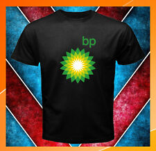 British Petroleum BP Oil Company New Logo Men's Black T-Shirt S M L XL 2XL