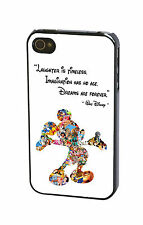 Walt Disney Quote Mickey Mouse Phone Case Cover for iPhone iPod Samsung
