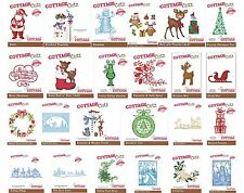 COTTAGE CUTZ CHRISTMAS CUTTING DIE COLLECTION 40 TO CHOOSE FROM UNIVERSAL FIT