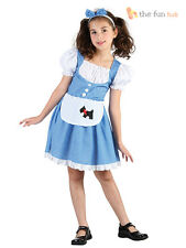 Girls Dorothy Costume Kids Childrens Fancy Dress Book Week Fairytale Character