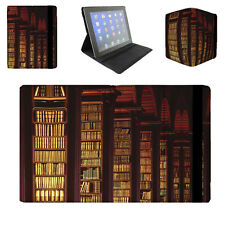 Library Book Worm Tablet Folio Case for iPad, Kindle, Samsung Galaxy Tab, & more