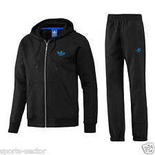 Adidas Originals SPO Mens Hooded Fleece Sweatshirts Pants Tracksuit Sizes S-XL