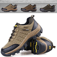 Mens Ourdoor Hiking Climbing Trail Boots Sports Trekking Shoes Plus 11 12 12.5